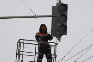 Установка светофора