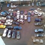 Спор за парковку