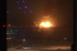 Пожар в акувапарке