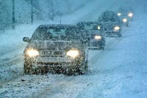 ухудшение дорожных условий
