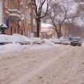 неубранный снег