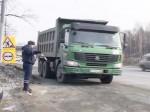 Запрет на движения грузовиков все еще не введен