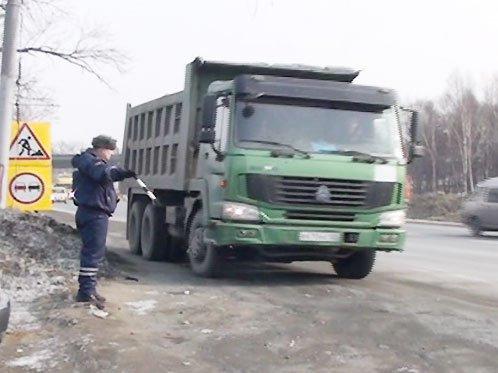 Ограничение для большегрузов