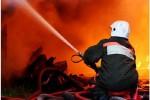 В Уфе ночью сгорел магазин «Байрам»