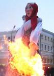 Масленица: жители Башкирии прощаются с зимой