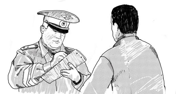 общении с полицейским