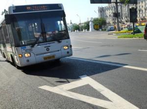выделенные полосы для общественного транспорта