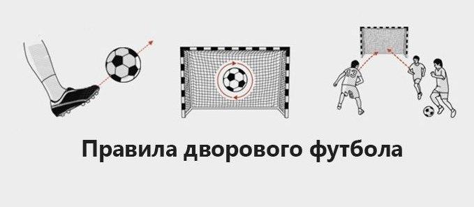 Правила дворового футбола