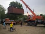 Снос гаражей в Дёмском районе