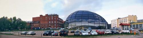 Вид со стороны Верхнеторговой площади