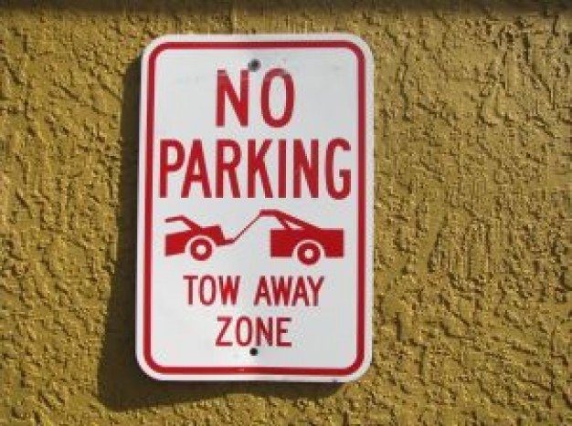 парковка запрещена знак