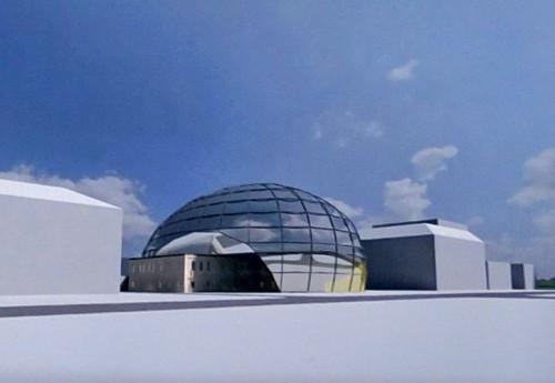 3D модель офисного зания