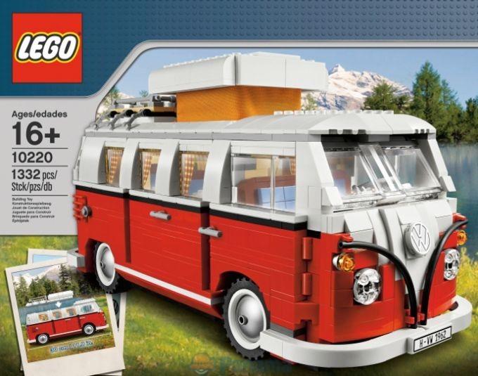 уменьшенная копия микроавтобуса Volkswagen