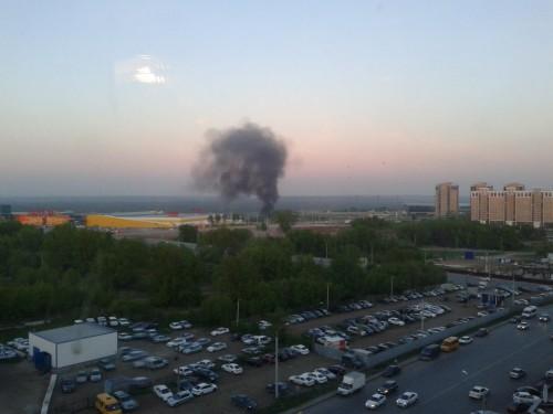 Пожар в Тужиловке 4