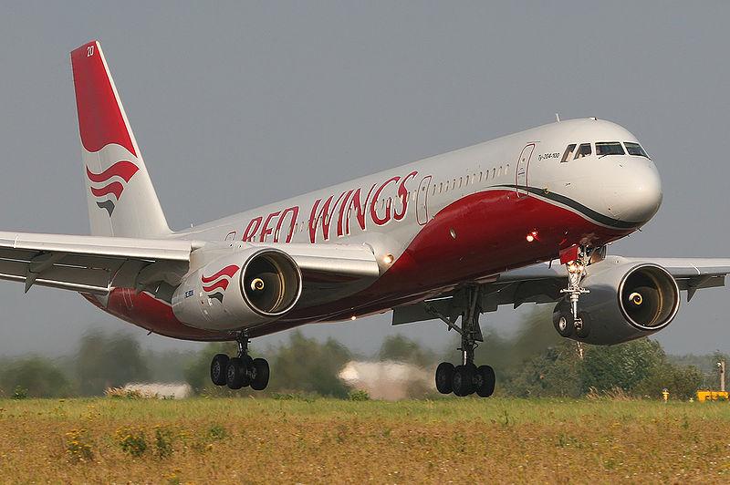 ту-204 red wings