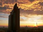 Гористый город Уфа