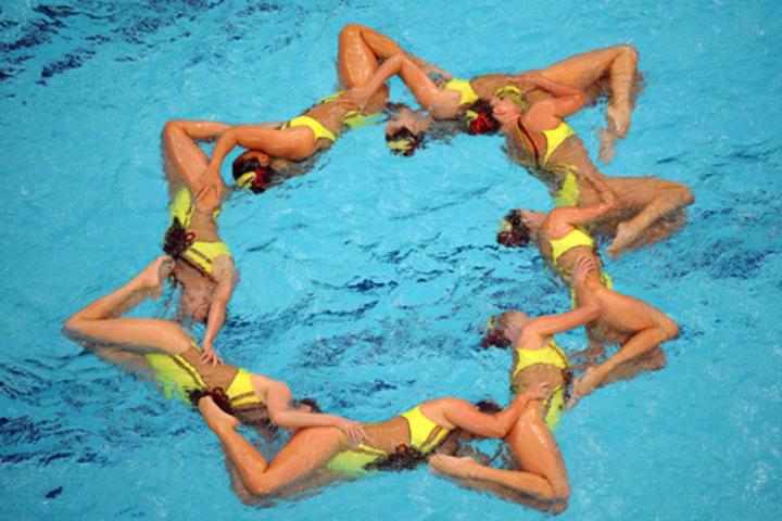 секция синхронного плавания