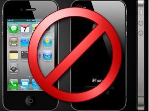 iPhone под запретом