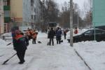 График комплексной очистки дворов Калининского района на 21 января