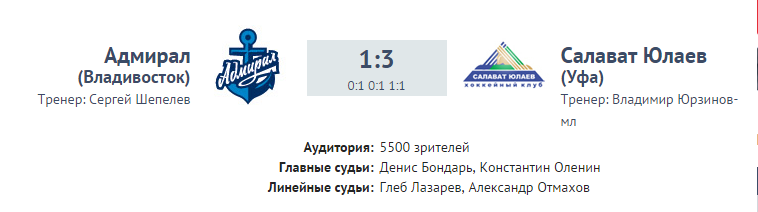 Адмирал - СЮ
