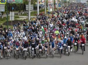 день 1000 велосипедистов