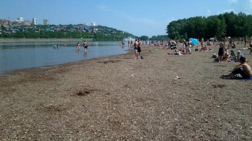 Пляжи Уфы