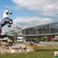скульптура Лошади