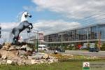 В Уфе появилась скульптура Лошади