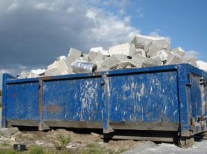 вывоз строительный мусор