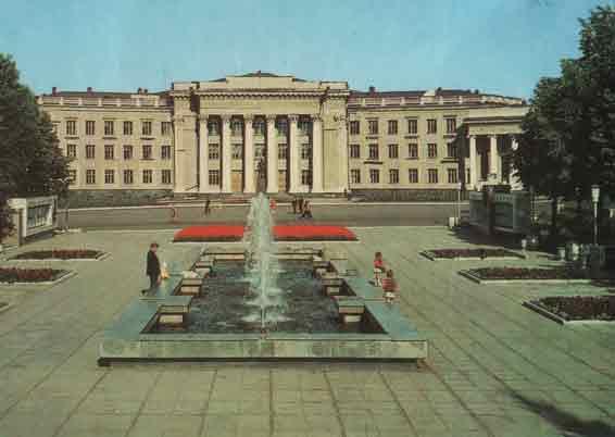 фонтан черниковка