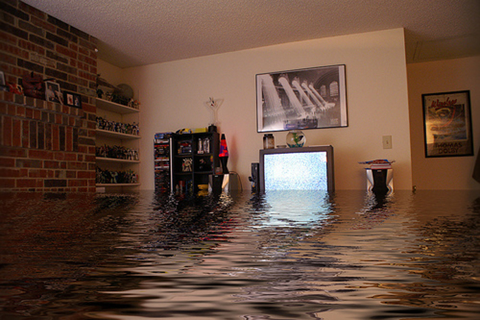 Затопило квартиру