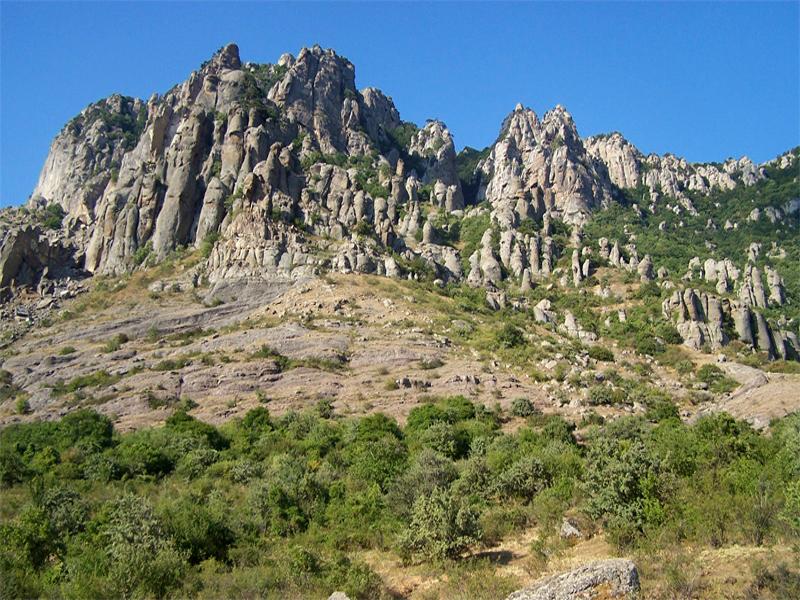 Крымская Долина привидений