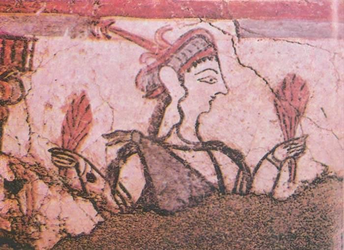 Микенская женщина