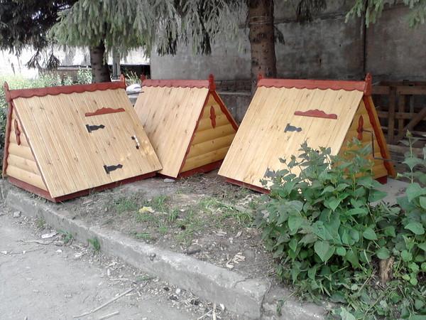 колодезные домики
