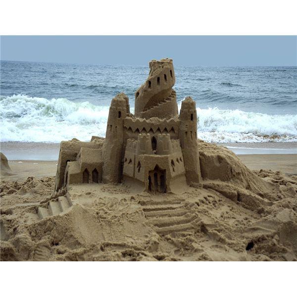песчаный замок