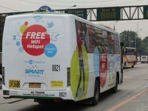 Clever wifi в автобусе