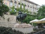 Памятник Георгию Победоносцу в Загребе