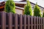 Выбор забора для загородного дома