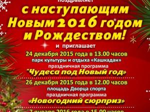 мероприятия октябрьский район 2016