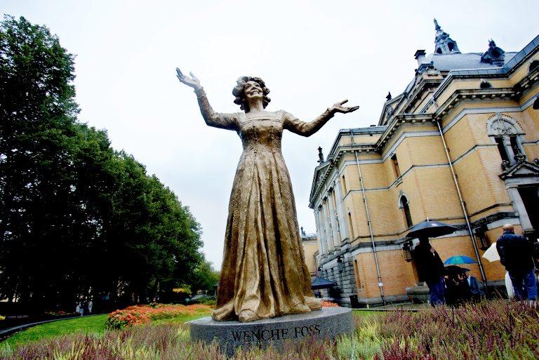 Памятник Венке Фосс