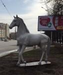 Новая скульптура появилась в Уфе