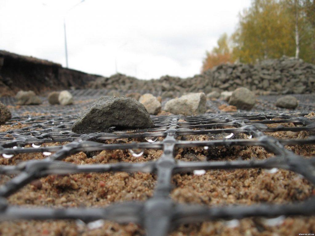 геосетка в дорожном строительстве