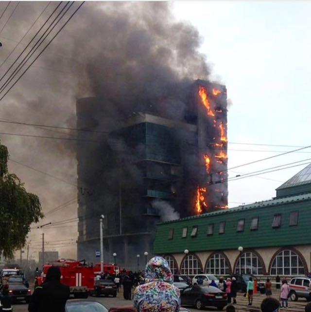 Пожар на Р.Зорге
