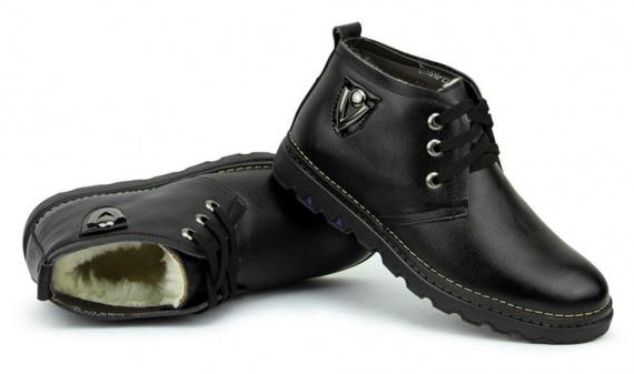 856bd1dc2ad2 Мех в зимней мужской обуви — Все об Уфе и не только