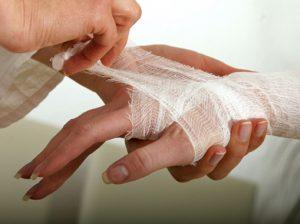 лечить порез