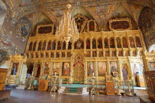 Интерьер Трапезного храма